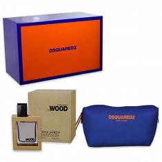 Dsquared2 Wood Men Eau De Toilette Spray 50ml Set 2 Pieces 2017