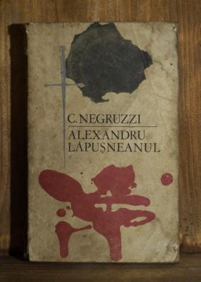 Carte - Alexandru Lapusneanul -  Constantin Negruzzi ( Nuvela, anul 1969 ) #521 foto
