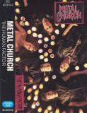 Caseta audio: Metal Church - The Human Factor ( 1991 - originala, Epic )