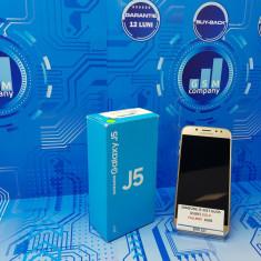 Samsung Galaxy J5 2017 J530F Gold Duos FACTURA+GARANTIE Impecabil - Telefon Samsung, Auriu, 16GB, Neblocat, Dual SIM