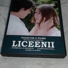 Colectia de filme - LICEENII - 5 DVD - Film Colectie independent productions, Romana
