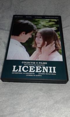 Colectia de filme - LICEENII - 5 DVD foto
