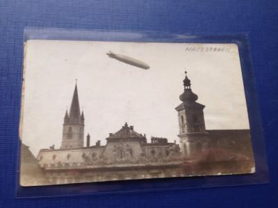 Sibiu 1929-1930 Zeppelin LZ 127 RARA !!1 foto