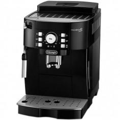 Espressor automat DeLonghi Magnifica S ECAM 21.117.B, 1450 W, 15 bar, 1.8 l, Negru - Cafetiera