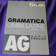 Gramatica limbii latine - Maria Parlog editia a 3-a 2001 (f0897 - Carte Cultura generala