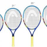 """Novak 2018 racheta tenis copii 25"""", Head"""