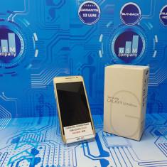 Samsung Galaxy Grand Prime G531F Gold FACTURA+GARANTIE Fullbox - Telefon Samsung, Negru, Neblocat, Single SIM
