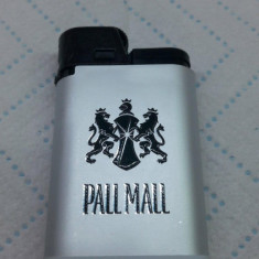 Bricheta Pall Mall Djeep gri - Noua - Nefolosita - De colectie - Bricheta Cu Gaz