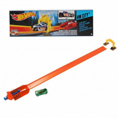 Jucarie Pista Hot Wheels Flame Shot Cadrul de foc W53696 Mattel - Masinuta