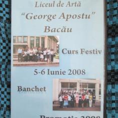 LICEUL DE ARTA GEORGE APOSTU BACAU 2008 - CURS FESTIV + BANCHET (2 DVD - uri!!!)