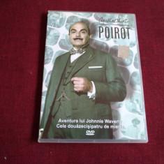 DVD AGATHA CHRISTIE POIROT - AVENTURA LUI JOHNIE WAVERLY / CELE DOUAZECISIPATRU, Politist, Romana