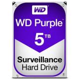 Hard-disk WD 5 TB-Purple NOU-sigilat Sata3 64MB 100% health P168, 7200, SATA 3, Western Digital