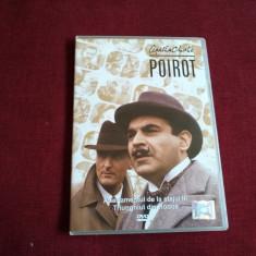 DVD AGATHA CHRISTIE POIROT - APARTAMENTUL DE LA ETAJUL III  /TRIUNGHIUL DIN RODO, Politist, Romana