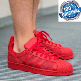 Cumpara ieftin ADIDASI ORIGINALI 100% Adidas Superstar  TRIPLE   red nr  43 1/3