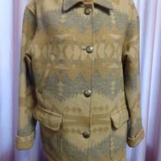 Jacheta vintage motive aztece Ralph Lauren - Jacheta dama, Marime: M, Culoare: Multicolor