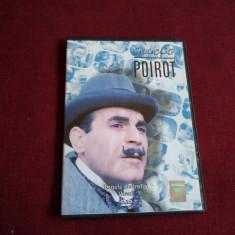 DVD AGATHA CHRISTIE POIROT - REGELE DE TREFLA /VISUL, Politist, Romana