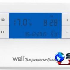 Termostat electronic cu afisaj digital programabil Well - Termostat ambient, Pentru centrala termica