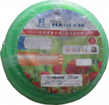 "Furtun de gradina silicon 100% Harlem®, 1"",25 mm,rola 50 metri, Verde"