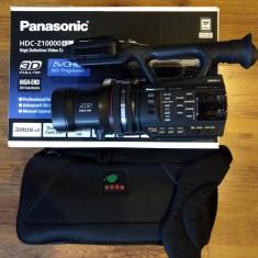 Vand Panasonic HDC-Z10000 - camera video profesionala Full HD 3D / 2D+Geanta
