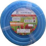 Cumpara ieftin Furtun de gradina siliconat ramforsat cu insertie textila Harlem®, 3/4,19 mm,rola 100 metri, Albastru