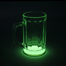 Halba de bere fosforescenta glow 250ml - accesoriu mobila