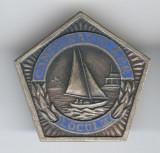 YACHTING LOC 3 CAMPIONAT Rep POPULARA ROMANA 1963 Insigna SPORT - PENTAGONALE