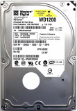 Cumpara ieftin Hard-disk WD 120 GB-Caviar, Sata2, 7200 rpm, 8MB, NOU, 36 zile, 100% health P170