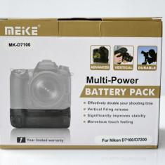 Grip Nikon DSLR D7100/D7200 tip MB-D15 Model Meike