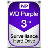 Hard-disk WD 3 TB-Purple NOU-sigilat Sata3 64MB 100% health P166, 7200, SATA 3