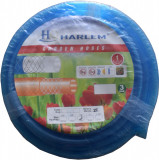 "Furtun de gradina silicon 100% Harlem®, 1"",25 mm,rola 50 metri, Albastru"
