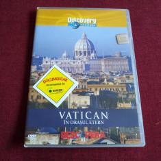 DVD DISCOVERY VATICAN ORASUL ETERN - Film documentare, Romana