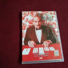 DVD AGATHA CHRISTIE POIROT - PROBLEME PE MARE /UN FURT INCREDIBIL, Politist, Romana