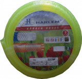 "Cumpara ieftin Furtun de gradina silicon 100% Harlem®, 1"",25 mm,rola 25 metri, Vernil"