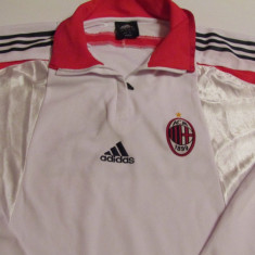 Bluza ADIDAS fotbal AC MILAN, XXL, Din imagine, De club