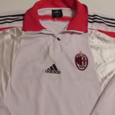 Bluza ADIDAS fotbal AC MILAN - Tricou echipa fotbal, Marime: XXL, Culoare: Din imagine, De club, Maneca lunga