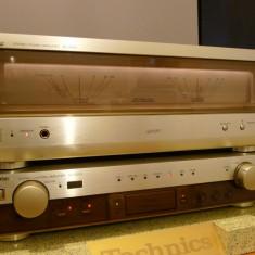 Technics SE-A1010 + SU-C1010 cap de serie, MOS-FET, in cutiile originale, rar! - Amplificator audio