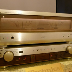 Technics SE-A1010 + SU-C1010 cap de serie, MOS-FET, in cutiile originale, rar! - Amplificator audio