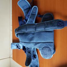 Vand port bebe - Marsupiu bebelusi, Albastru