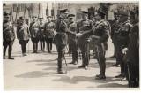 M.S Carol al II-lea la Scoala Artilerie Timisoara, ofiterii din comanda unitatii
