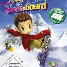 Family Ski and Snowboard - Nintendo Wii [Second hand] - Jocuri WII, Sporturi, 3+, Multiplayer