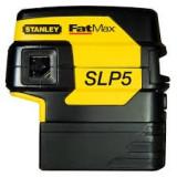 Set nivela laser cu 5 puncte FatMax SLP5 si trepied STANLEY