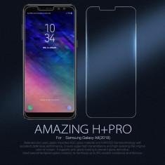 Folie Sticla Securizata / Tempered Glass pt Samsung Galaxy A8 2018 / A530F / 9H - Folie de protectie