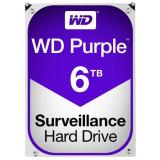 Hard-disk WD 6 TB-Purple NOU-sigilat Sata3 64MB 100% health P169, 7200, SATA 3, Western Digital