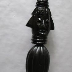STATUETA-arta africana-FEMEIE DIN AFRICA-3-vintage - Arta din Africa