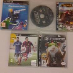 LOT 5 Jocuri G Force + Motorstorm + Call of Duty + FIFA 15 - PS3 [Second hand] - Jocuri PS3, Actiune, 18+, Single player