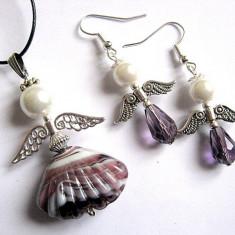Set ingerasi 30345 - Set bijuterii handmade si fashion