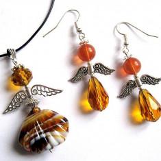 Set ingerasi 30344 - Set bijuterii handmade si fashion