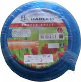 Cumpara ieftin Furtun de gradina silicon 100% Harlem®, 3/4,19 mm,rola 100 metri, Albastru