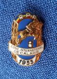 Insigna Calarie - Conc. International 1953 - RPR - hipica