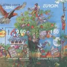 Bulgaria 2010 - Europa, carti pt copii, bloc neuzat